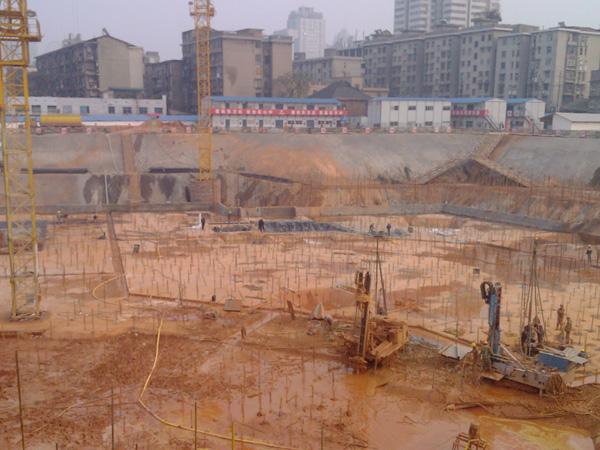 嘉汇科技-滁州地下车库抗浮项目